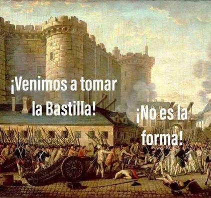 1789 con la toma de la bastilla comienza la revolución francesa