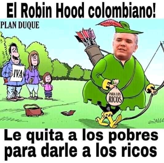 Ivan duque el hood robin hood