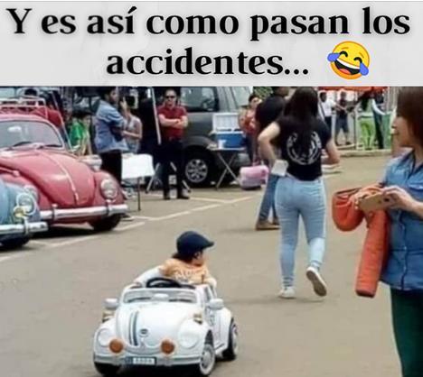 accidente por distracción del conductor