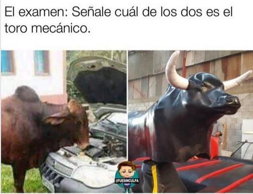 cual es el toro mecanico