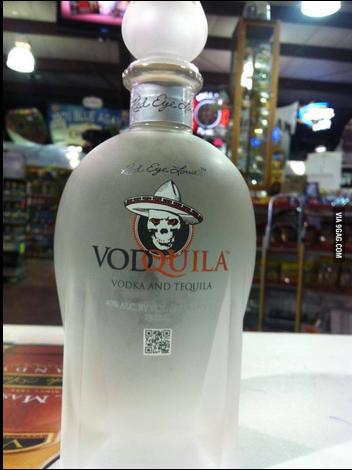 deja de ahogar tus malos recuerdos borrate el disco duro de una vez con vodquila tequila y bodka en una sola botella