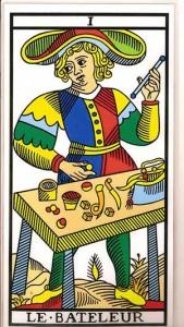 el mago arcano i tarot de marsella carta 1