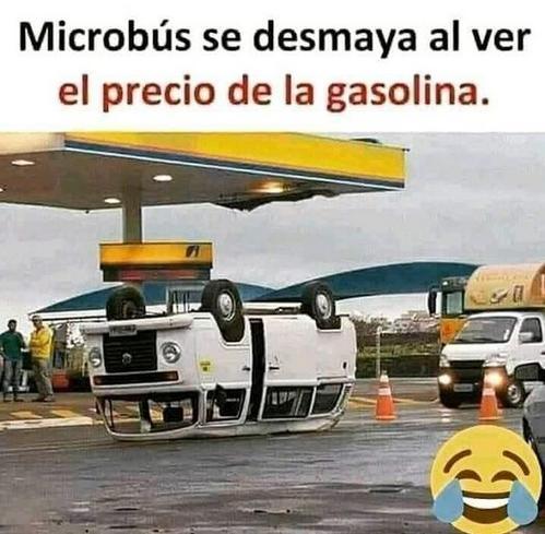 el precio de la gasolina no deja de subir