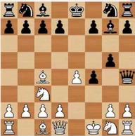 gambito al rey variante reina alfil