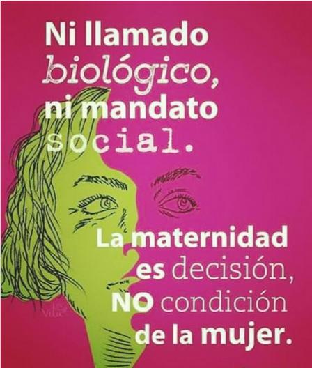 la maternidad es decisión de la mujer