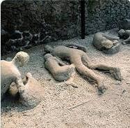 la peor catastrofe volcánica de la humanidad fue en pompeya