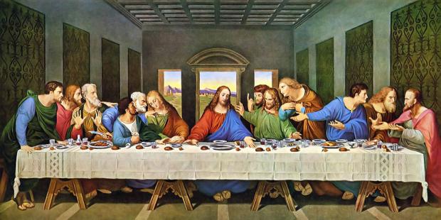la ultima cena jesus y sus doce apostoles the last supper