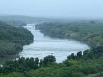 rio bravo o rio grande frontera natural entre mexico y estados unidos
