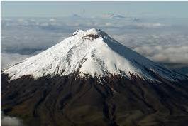 segundo pico mas alto del ecuador es el volcan cotopaxi