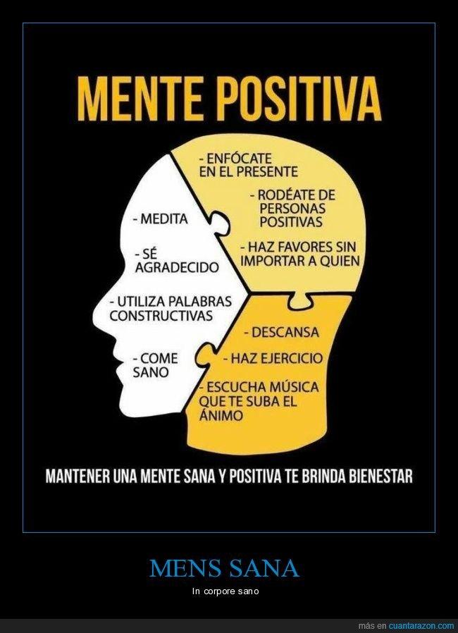 ser positivo mantener una mente positiva positivismo y bienestar