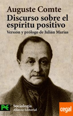 discurso sobre el espiritu positivo auguste comte libros sobre positivismo