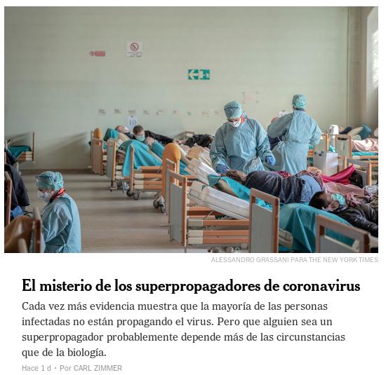 20200704 nytimes.com el misterio de los supercontagiadores del covid