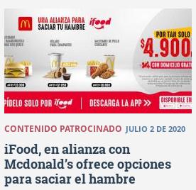 20200706 eltiempo.com ifood y mcdonalds sacian el hambre