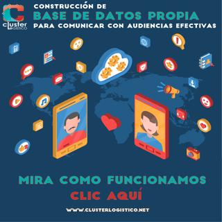 www.clusterlogistico.net construimos sus bases de datos para una comunicación eficaz con sus audiencias cluster logistico