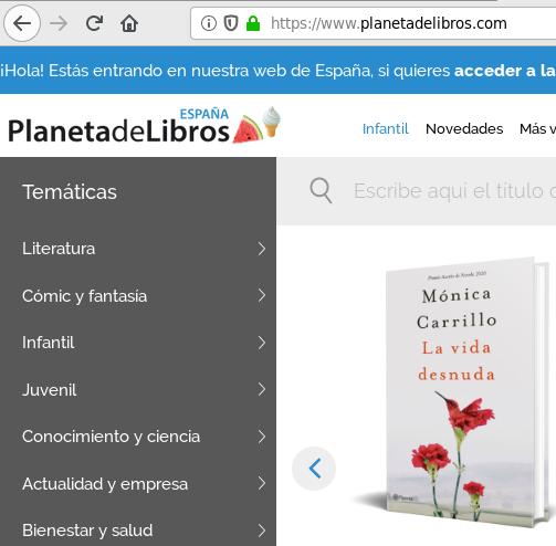 www.planetadelibros.com planeta de libros venta de libros online